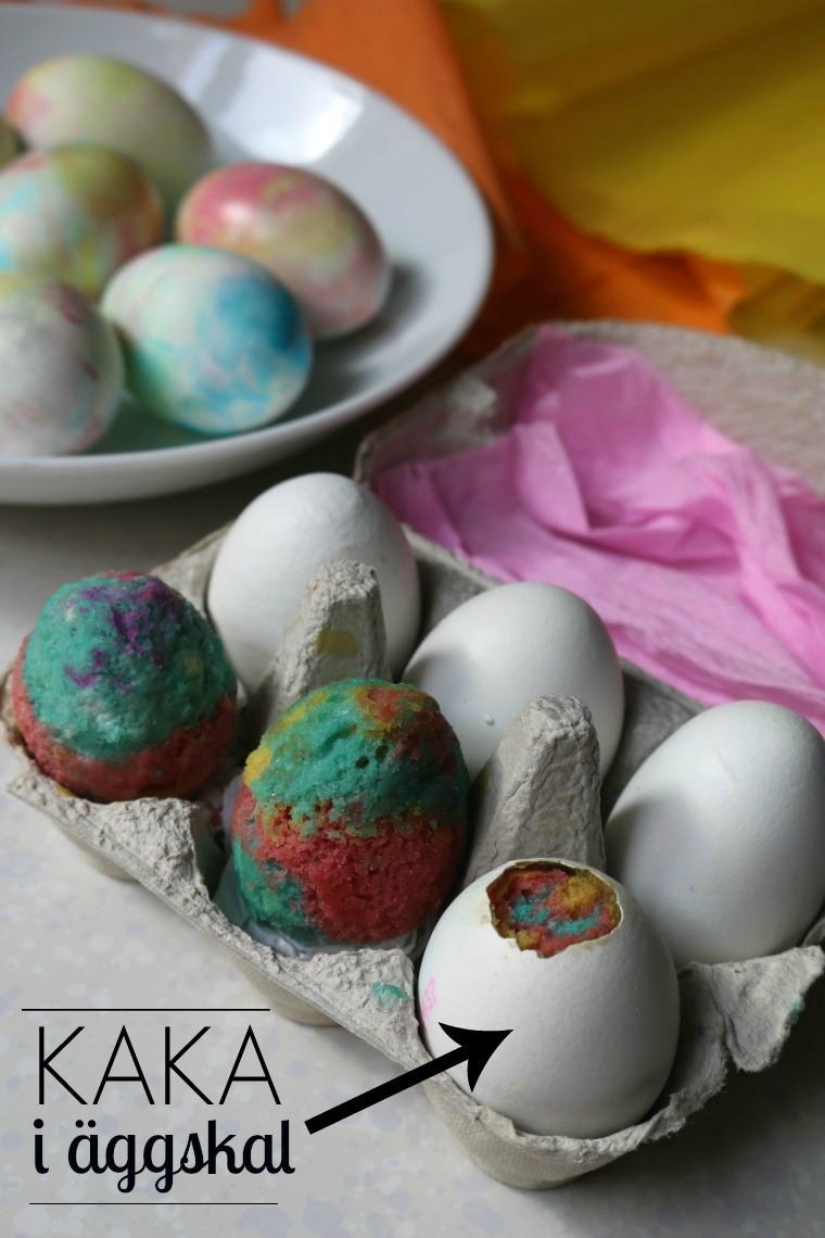 gjorde vackra ägg
