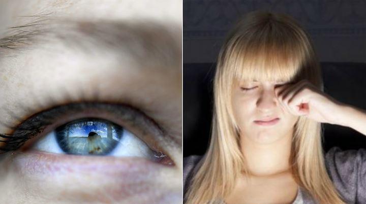 ryckningar i ögonbrynet