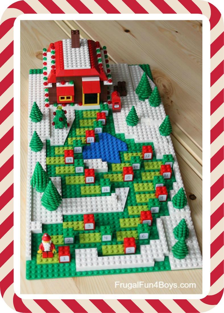 julkalender med presenter