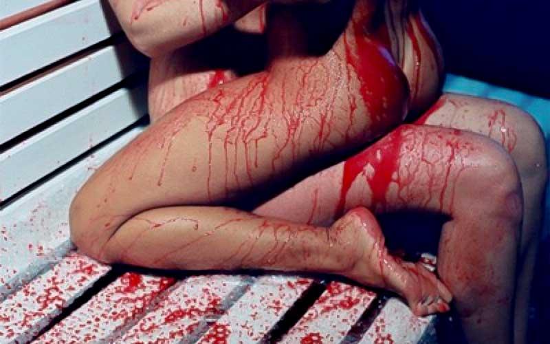 Фото кровавый секс
